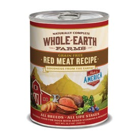 Whole Earth Farms™ Grain Free Hearty Red Meat Recipe Canned Dog Food